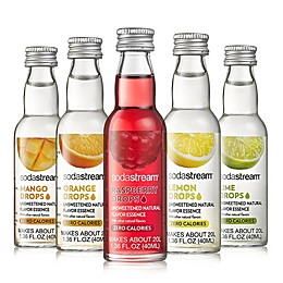 SodaStream® 5-Piece Unsweetened Fruit Drops Variety Pack