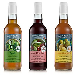 SodaStream® Goodness 3-Piece Drink Mix Variety Pack