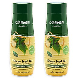 SodaStream® 2-Pack Honey Iced Tea Drink Mix