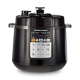 Hamilton Beach® 6 qt. Multi-Function Pressure Cooker in Black