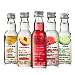 SodaStream® 5-Piece Fruit Drops Sensation Variety Pack