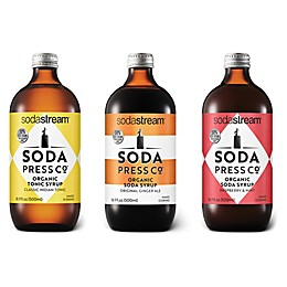 SodaStream® Soda Press 3-Piece Craft Mixers Variety Pack