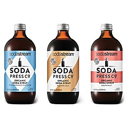 SodaStream® Soda Press 3-Piece Classic Mixers Variety Pack