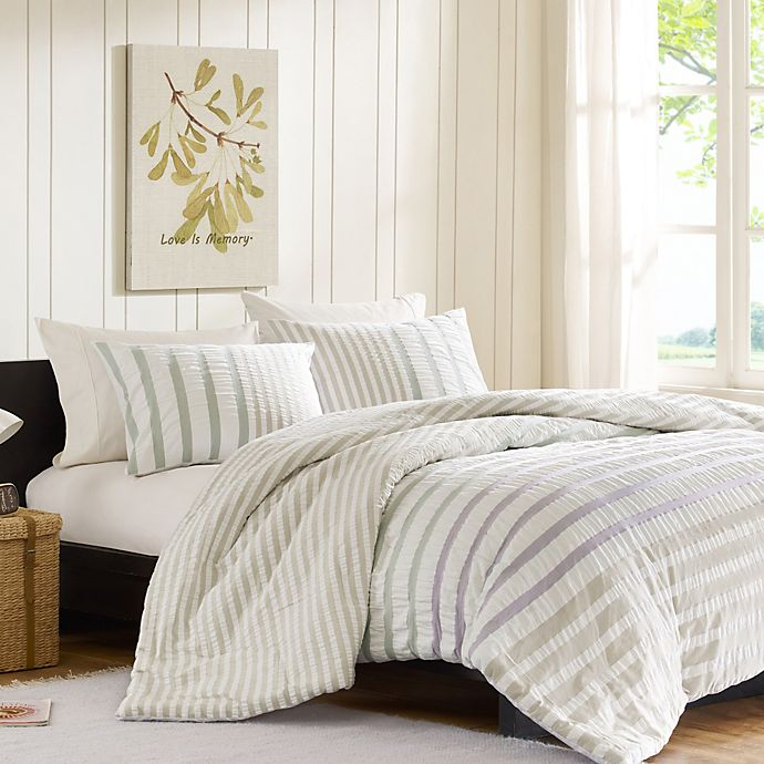 Alternate image 1 for INK+IVY Sutton Twin Duvet Cover Set