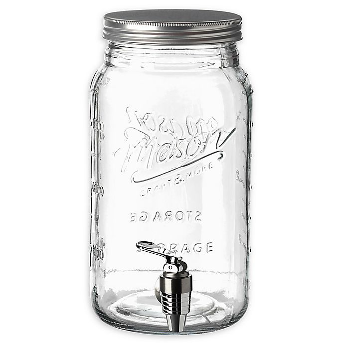 Mason Craft More 1 Gallon Mason Jar Drink Dispenser Bed Bath Beyond