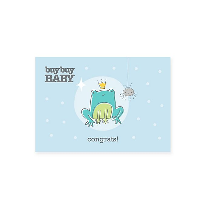 Alternate image 1 for Baby Frog Congratulations Gift Card