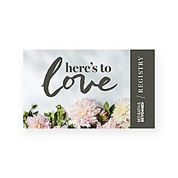 Love Flowers Gift Card