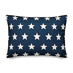 Designs Direct Stars Oblong Throw Pillow