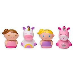 Unicorn Bath Finger Puppets (Set of 4)