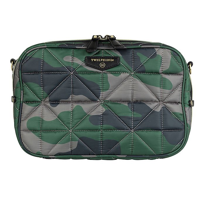 Alternate image 1 for TWELVElittle Diaper Clutch in Camouflage
