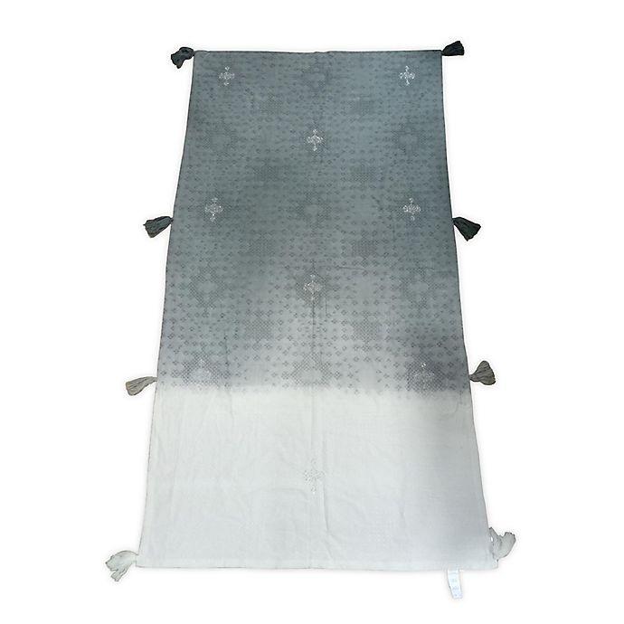 Alternate image 1 for Global Caravan Embroidered Bed Runner in Grey