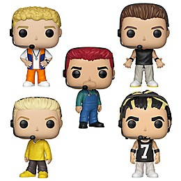 Funko POP! NSYNC 5-Pack Collectible Figurine Set