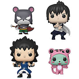 Funko POP! Fairy Tail 4-Pack Series 3 Collectible Figurine Set