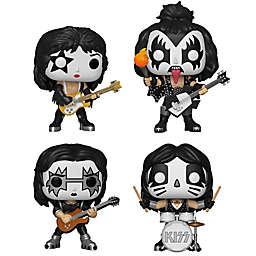 Funko POP! 4-Pack KISS Rock Band Collectors Set Figurines