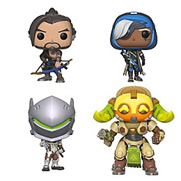 Funko® POP! Games Overwatch 4-Pack Series 4 Collectible Figures Set