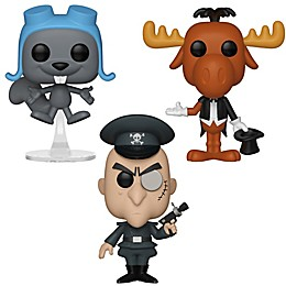 Funko POP! Animation 3-Pack Rocky & Bullwinkle Collectors Figurines