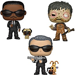 Funko POP! Men in Black 3-Pack Collectible Figurine Set