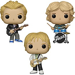 Funko® POP! Rocks The Police 3-Pack Collectible Figures Set