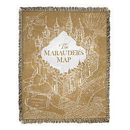 Harry Potter 46x60 Jac Throw - Old Map