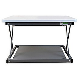 Uncaged Ergonomics CHANGEdesk Mini Standing Desk Conversion in White
