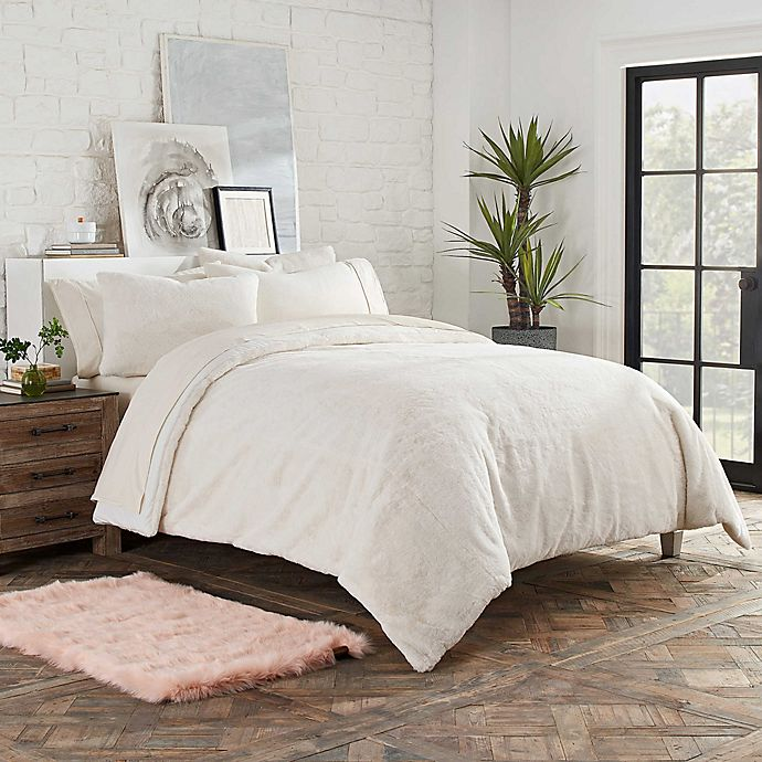 2 Pc Ugg Polar Twin Twin Xl Comforter Set Snow Faux Fur Glam Girl S Dorm Bedding Ebay