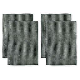 MU Kitchen™ Waffle Kitchen Towels (Set of 4)