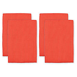 MU Kitchen™ Waffle Kitchen Towels (Set of 4)