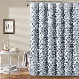 Gigi 72-Inch x 84-Inch Shower Curtain in Silver