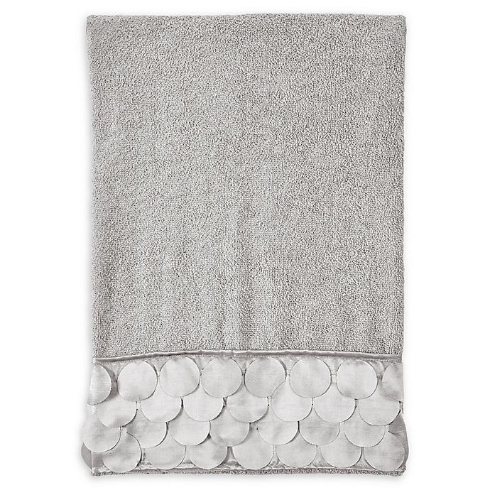 Alternate image 1 for Gigi Bath Towel in Grey