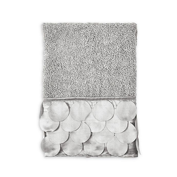 Alternate image 1 for Gigi Hand Towel in Grey