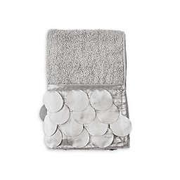Gigi Fingertip Towel in Grey