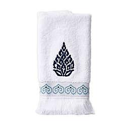 Capri Medallion Fingertip Towel