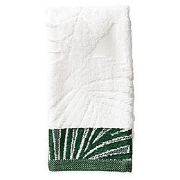 Indoor Garden Fingertip Towel in Green