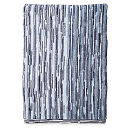 DKNY Brushstroke Ombré Bath Towel in Indigo