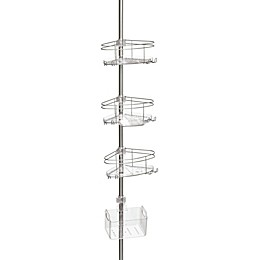 ORG Deluxe Pole Caddy in Satin Nickel