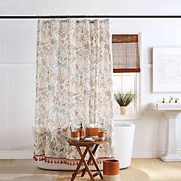 Wild Garden Multicolor Shower Curtain