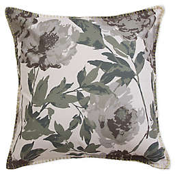 Trudie Square Throw Pillow in Grey