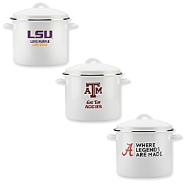 Collegiate Nonstick 12 qt. Gameday Covered Stock Pot