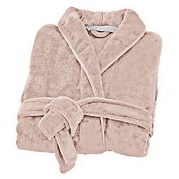Brookstone® n-a-p® Small/Medium Bathrobe in Pink