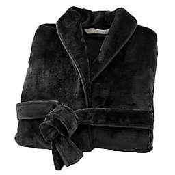 Brookstone® n-a-p® Small/Medium Bathrobe in Black