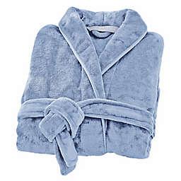 Brookstone® n-a-p® Large/X-Large Bathrobe in Blue