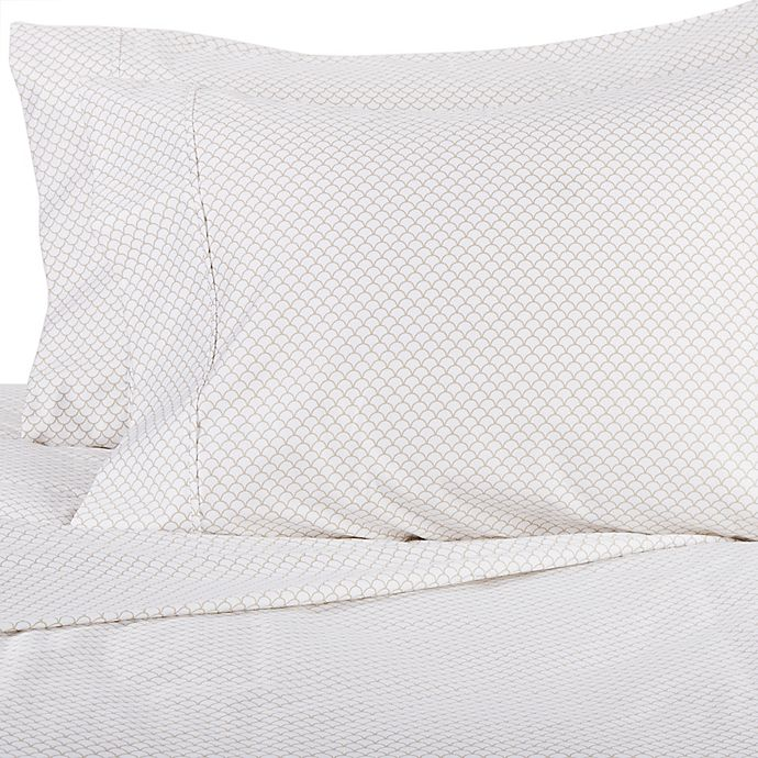 Alternate image 1 for Wamsutta® Scallop 625-Thread-Count PimaCott® Pillowcases (Set of 2)