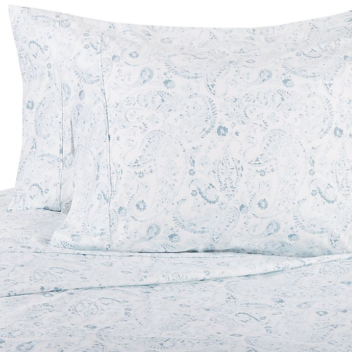 Alternate image 1 for Wamsutta® Paisley 625-Thread-Count PimaCott® Pillowcases (Set of 2)