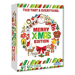 Outset Media This That & Everything Party Merry X-Mas Edition Board Game
