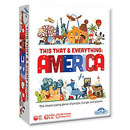 Outset Media This That & Everything Party America Edition Board Game