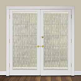 Heritage Lace® Pineapple Rod Pocket Door Panel