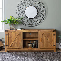 Forest Gate™ Wheatland 58-Inch TV Stand in Barnwood