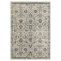 CosmoLiving Park Ivory Area Rug in Ivory/Grey