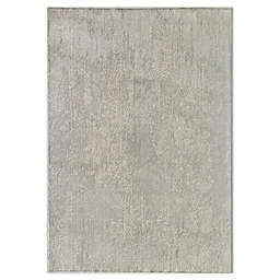 CosmoLiving Duchess Lacey Area Rug in White/Grey