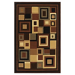 Home Dynamix Catalina Virgina Area Rug in Black/Brown